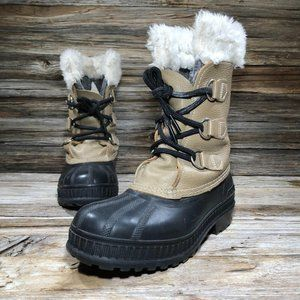 Sorel Ram Tan Winter Snow Boots Toddler 4